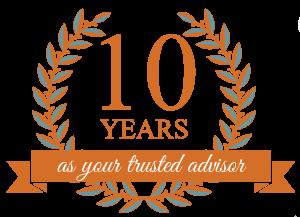 10 Year Badge 1